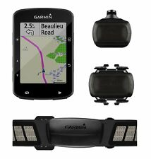 Garmin Edge 520 Plus GPS Cycling Computer w/ Speed & Cadence Bundle 010-02083-01