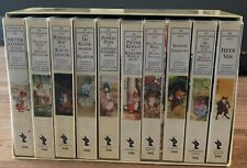 BEATRIX POTTER - COLLECTIE - 10X VHS