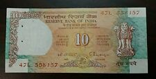 1 Note - 10 Rupee  Shalimar  India Bank Note - UNC #02us - FREE SHIPPING