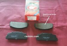 FIAT 125 - 850 SPIDER PATTINI PASTIGLIE PASTICCHE FRENO BRAKE PADS