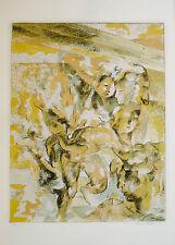Vasconi Franco (Alessandria,1920) -Evasione1971- Litografia. Ed.Grafica Uno