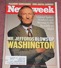 NEWS WEEK MAGAZINE, 06/04/01, SENATOR JIM JEFFORDS DEFECTS FROM REPUBLICAN PARTY