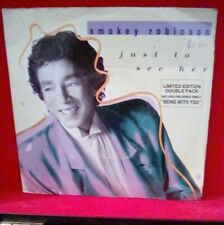 """Smokey Robinson – Just To See Her Vinyl 7"""" Limited Edition Motown Double Pack"""