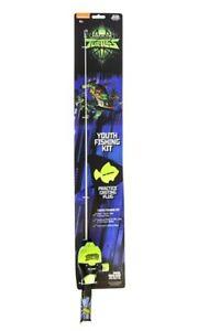 Kid Casters Teenage Mutant Ninja Turtles Spincast Combo Fishing Kit