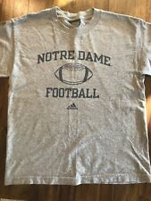 Boys Adidas Notre Dame football t-shirt size 10