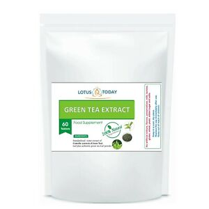 PURE GREEN TEA TABLETS *STRONG* Extract 95 % Polyphenols 20:1 Extract 90 Pills