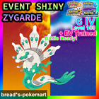 ✨SHINY✨ EVENT LEGENDARY ZYGARDE / 6IV BATTLE READY / Pokemon Ultra Sun&Moon 3DS
