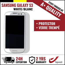 A+ LCD SCREEN/SCHERM/ÉCRAN WHITE + SCREEN GUARD FOR SAMSUNG GALAXY S3 I9300