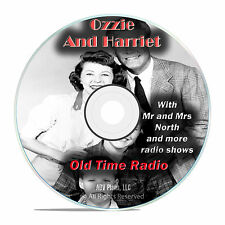 Ozzie and Harriet, 584 Old Time Radio Shows, Family Sitcom Show OTR mp3 DVD G28