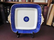C 1900 Wedgwood Blue & White Square Platter - Patt No Y6401 - Antique Wedgwood