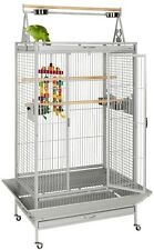 AFRICAN GREY AMAZON PARROT CAGE LIBERTA CAMBRIDGE STONE PARROT CAGES