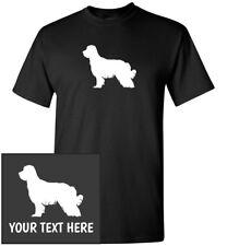 Pyrenean Shepherd Silhouette T-Shirt, Men Women Youth Kids Long Tank Custom Tee