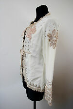 CREAM Of Denmark Women`s Blazer Size 38 / UK 10 NEW Embroidered Jacket Summer