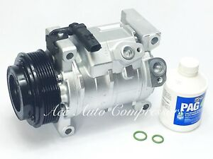 2008-2010 Chrysler Town & Country 3.3L / 3.8L With Rear Air A/C Compressor.
