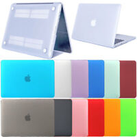 """Hard Frosted Rubberized Shell Case Cover For Macbook Retina 15.4"""" 13.3"""" 12"""""""