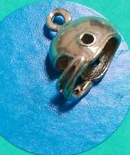 Charm Y4 Football Helmet Sterling Silver Vintage Bracelet