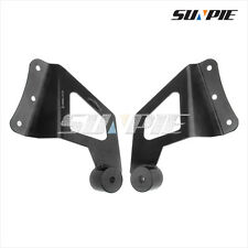 Roof Cab Mounting Bracket For Ford F250 F350 50'' Straight LED Work Light Bar