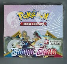 Pokemon Tcg Sword y Shield Booster Box 36 Booster Packs