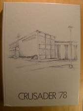 Brother Rice High School Chicago IL 1978 Year Book Annual Crusader Yearbook