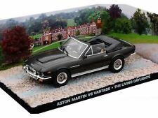 ASTON MARTIN V8 VANTAGE CONVERTIBLE THE LIVING DAYLIGHTS JAMES BOND 007 UH 1/43