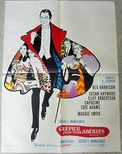 AFFICHE CINEMA 7052 - GUEPIER POUR TROIS ABEILLES - JOSEPH L MANKIEWICZ - 60/80