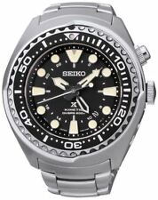 SEIKO PROSPEX Kinetic GMT Scuba Diver's 200m Steel Watch SUN019P1