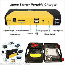 12V Car Jump Starter 13800mAh Portable Battery Power Bank Pack Booster Charger