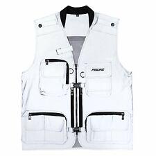 Prolific Shop Tactical Vest - REFLECTIVE pockets fashion off white bag utility
