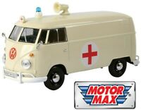 1:24 scale Volkswagen VW Type 2 (T1) Delivery Van Ambulance by Motor Max
