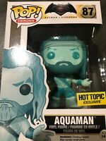 NEW Funko Pop DC Comics Batman Vs Superman Dawn Justice Blue Aquaman Hot Topic