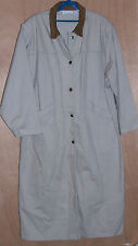 Womens Size Large Christopher and Banks Cowgirl Duster Coat Jacket Khaki Tan L