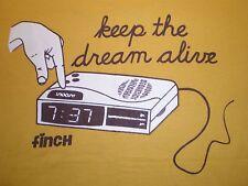 """""""mantener vivo el sueño"""" - 100% algodón camiseta-medio-cuello redondo-Amarillo"""