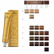 Schwarzkopf IGORA ROYAL Absolutes HAIR Color 60ml - HAIR COLOUR