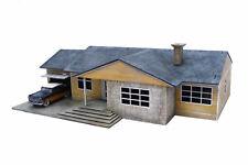 Retro Americana Residential Ranch Style – Garage LHS 28mm Laser Cut MDF Build...