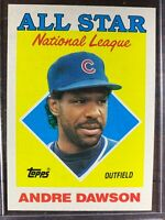 Andre Dawson Baseball Card #401 Topps 1987 RBI Leaders Chicago Cubs MLB HOF MINT