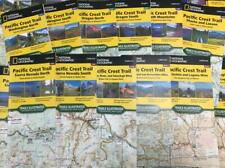 Pacific Crest Trail Maps Complete PCT Topo Trail Map Guides National Geographic