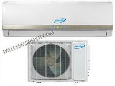 12,000 Ductless Mini Split Heat Pump Air Conditioner Free Kit 110V AC Unit btu