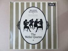 SXL 6151 WBg ED1 Weller Quartet Brahms Quartets No.1 & 2 UK Decca LP NM