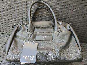 Sac à main femme Puma Ferrari Handbag black neuf 075862-01