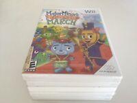 Major Minor's Majestic March (Nintendo Wii, 2009) WII NEW