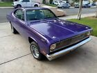1971 Plymouth Duster  mall block V8, 3-speed automatic, power steering, 3.55 rear with sure grip