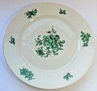 Vintage Rosenthal Plate Bahnhof Selb Aida Green Florals - 25cm in diameter