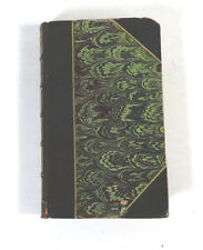Oeuvres De G. Flaubert Trois Contes; French Assumed 1880s Hardcover RARE Undated