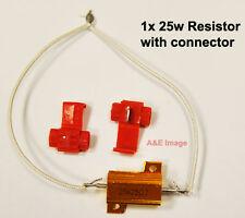 1x carga resistor 25w 25ohm Bombilla Led Flash Tipo indicadores Controlador Canbus Libre