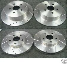 HONDA S2000 1999-2009 BRAKE DISC CROSS DRILLED GROOVED BRAKE DISCS FRONT REAR