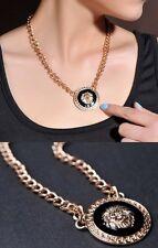 Collier pendentif Lion style rihanna acier doré, Hip Hop Rnb, Nouveauté