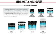 Mia Secret Clear Acrylic Powder 0.5 oz To 1.5 lb - CHOOSE YOUR SIZE