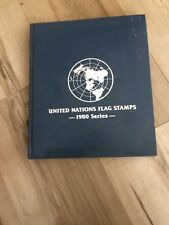 United Nations Flag Stamps 1980 Series Covers
