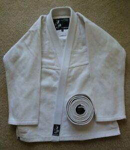 Century Jiu-Jitsu 425gsm Student Gi Uniform Heavyweight White Sz A2 Martial Arts