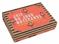 Joie du Jour Notecards: 16 Notecards and Envelopes Seto, Cat Brand New